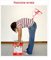Vita e mal di schiena a donne